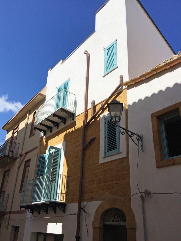Das Haus von Susanna Heinson in der Altstadt von Sambuca