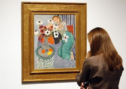 """Rekordgemälde: Henri Matisse' Bild """"L'Odalisque, harmonie bleue"""" aus dem Jahr 1937"""