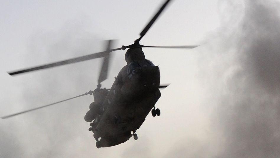 US-Helikopter vom Typ Chinook: Viele Tote bei Hubschrauber-Crash im Osten Afghanistans