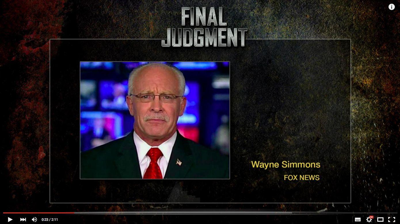 EINMALIGE VERWENDUNG Wayne Simmons/ Fox News