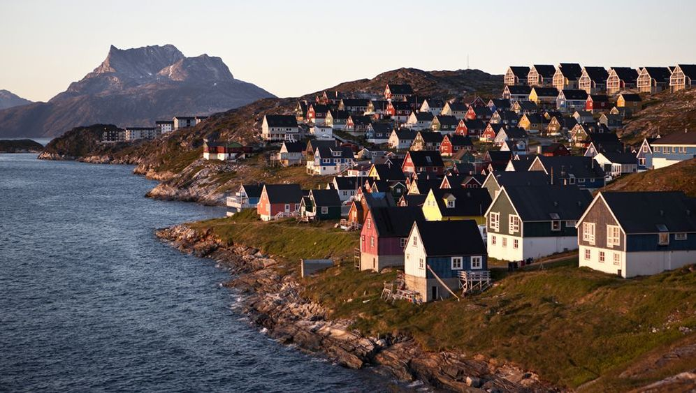 Kulturschock in Grönland: Enten an der Wand