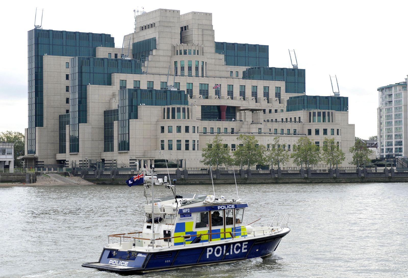 Secret Intelligence Service/ SIS/ MI6/ Britischer Geheimdienst/ Hauptquartier