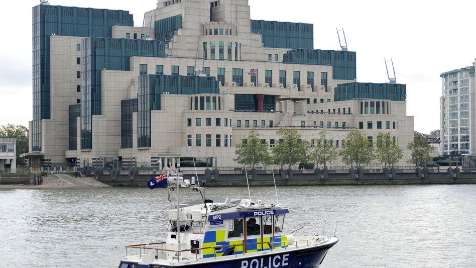 Geheimdienstzentrale in London: SIS war Christopher Steeles Arbeitgeber