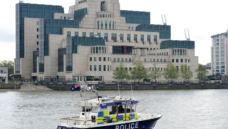 Hauptquartier des MI6 in London
