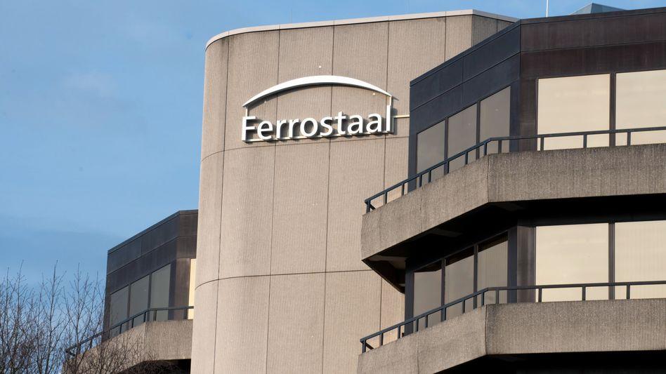 Firmenzentrale von Ferrostaal in Essen: Verdacht auf Schmiergeldzahlungen