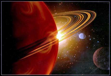 Saturn: Auch auf seinen Monden könnten sich größere Mengen Wasser befinden