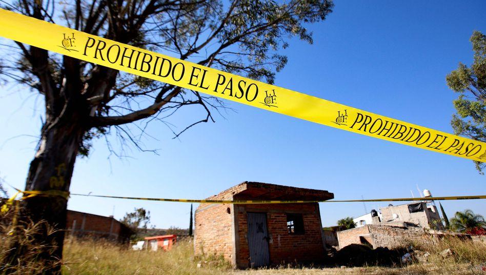 Auf einem Grundstück in der mexikanischen Gemeinde Tlajomulco wurde ein Massengrad entdeckt
