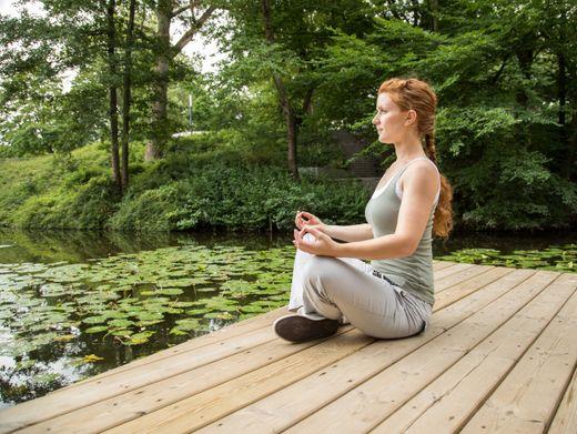 Meditation ist ein möglicher Weg zu mehr Konzentration