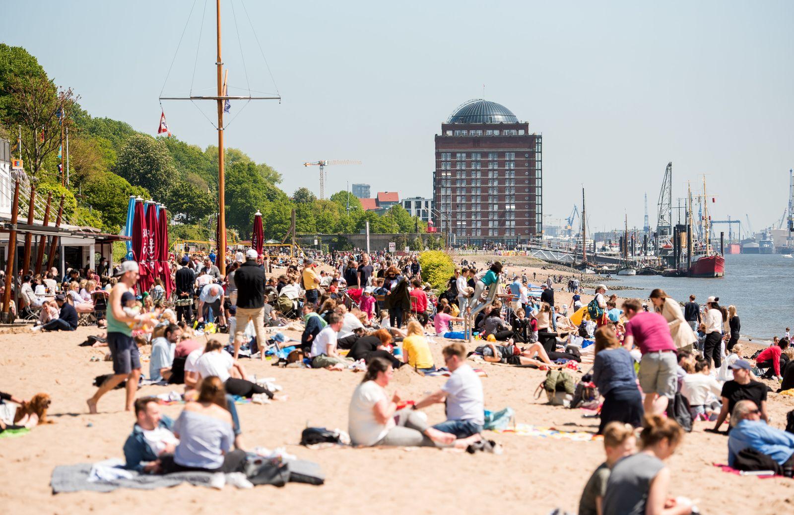 Sommerwetter in Hamburg