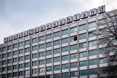 Verlagsgebäude des »Neuen Deutschland« (in Berlin-Friedrichshain): Was vom Sozialismus übrig blieb