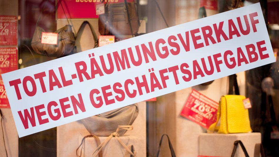 Geschäft in Köln: Kleinere Betriebe gefährdet