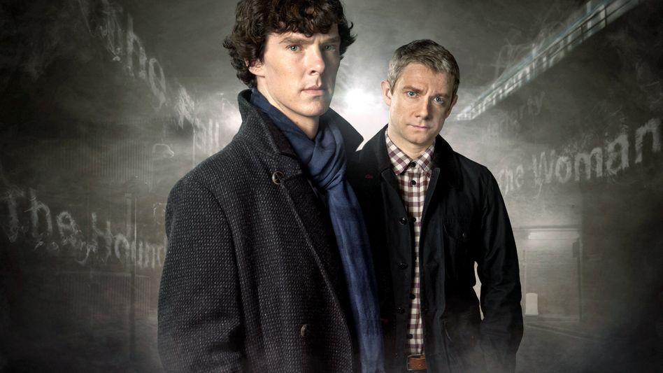 Sherlock Holmes (Benedict Cumberbatch) und Dr. John Watson (Martin Freeman): Drehbeginn im Januar 2015