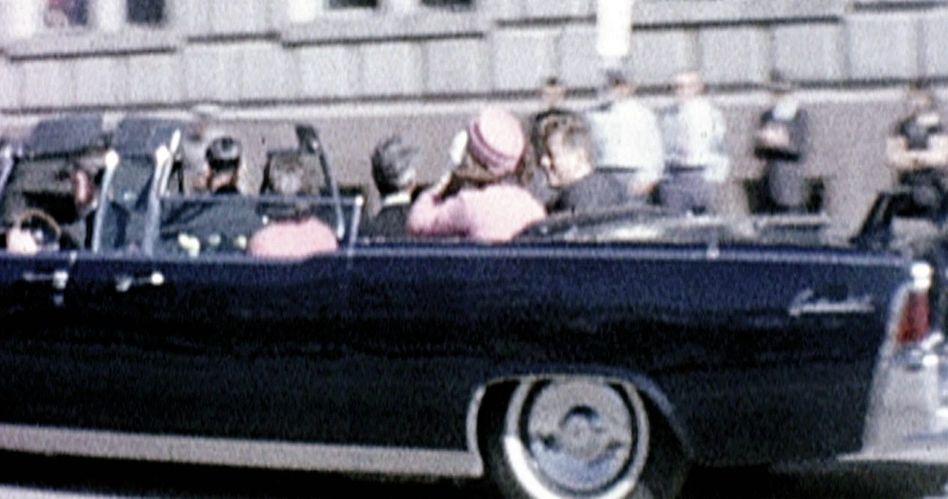 US-Präsident Kennedy vor dem Attentat in Dallas 1963