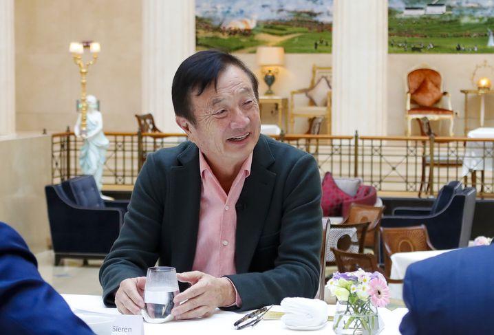 Firmengründer Ren Zhengfei: Ein Partner für Deutschland?
