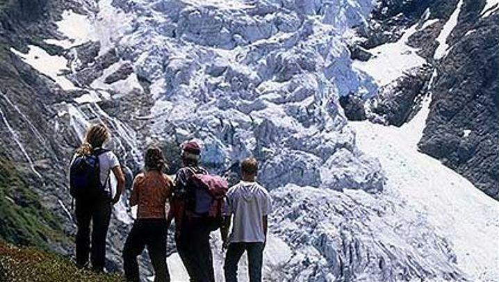 Gletscherschmelze: Millionen Kubikmeter Eis
