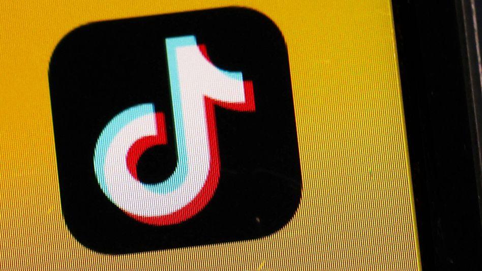 Nicht sehr bunt: Das Logo der TikTok-App