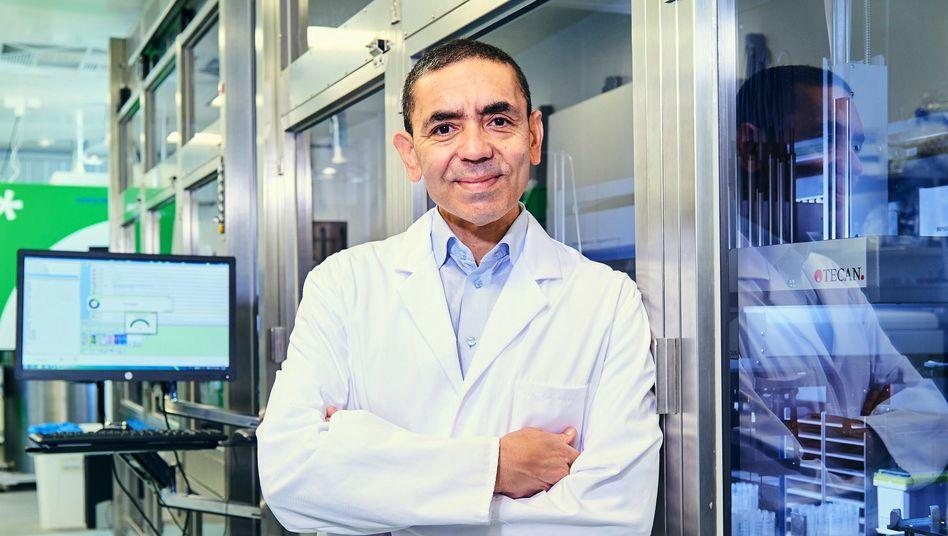 Ugur Sahin, Chef des Mainzer Unternehmens Biontech