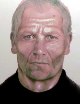 A computer generated photo-fit image of Mafia boss Provenzano. The last picture police had of him was taken when he was 25. They had since been using computer depictions of how he might have aged.