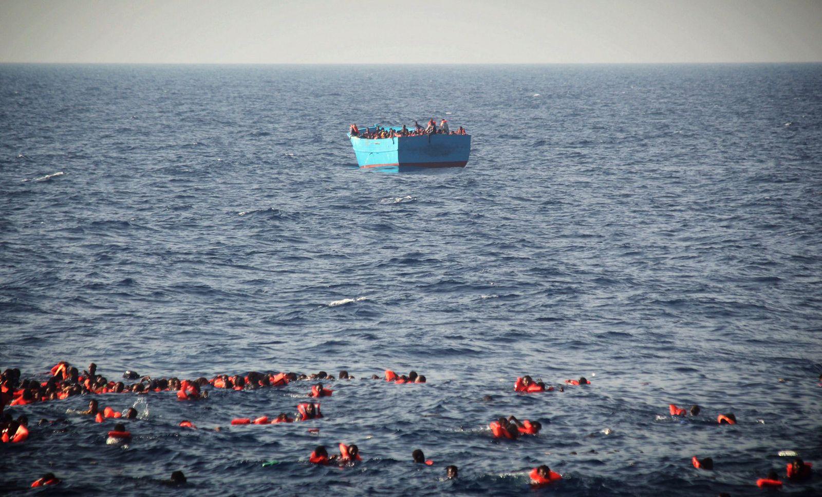 Flüchtlingsdrama auf dem Mittelmeer