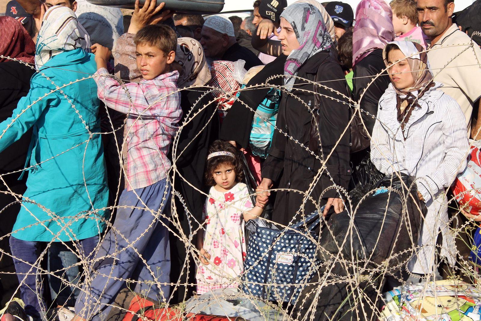 syrische flüchtlinge Türkei