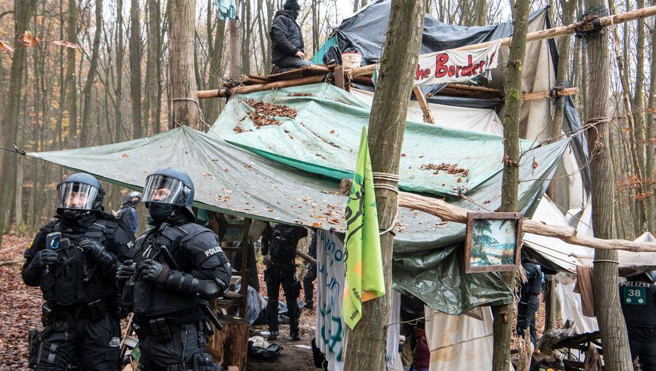 Protest-Camp im Dannenröder Forst