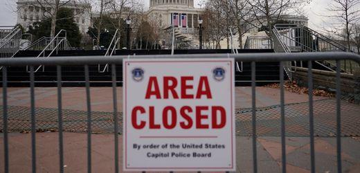 Washington, D.C.: Bewaffneter Verdächtiger nahe Kapitol festgenommen