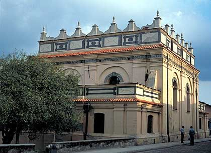 """Synagoge von Zamosc: Die jüdische Bevölkerung wurde von den Nationalsozialisten in der """"Sonderaktion Zamosc"""" umgebracht"""