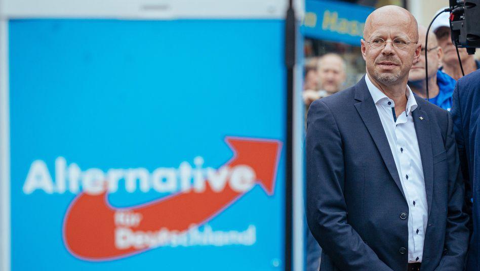 Andreas Kalbitz: In der AfD wird verhandelt, ob er Mitglied der Partei sein kann.