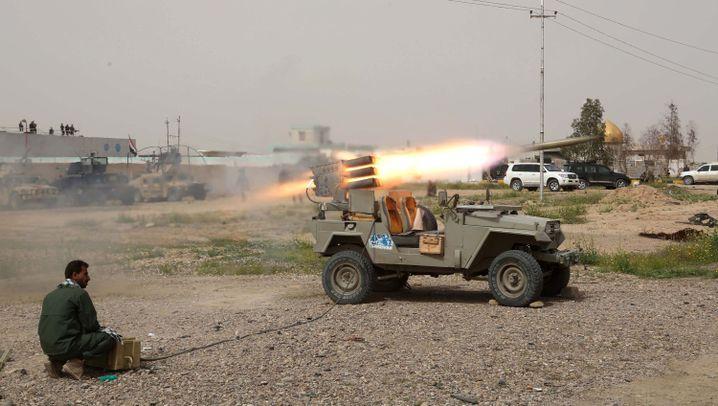 Kampf gegen den IS: Häuserkampf um Tikrit