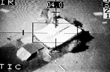 Bombenangriff auf irakischen Bunker (1991): Bush droht weiter