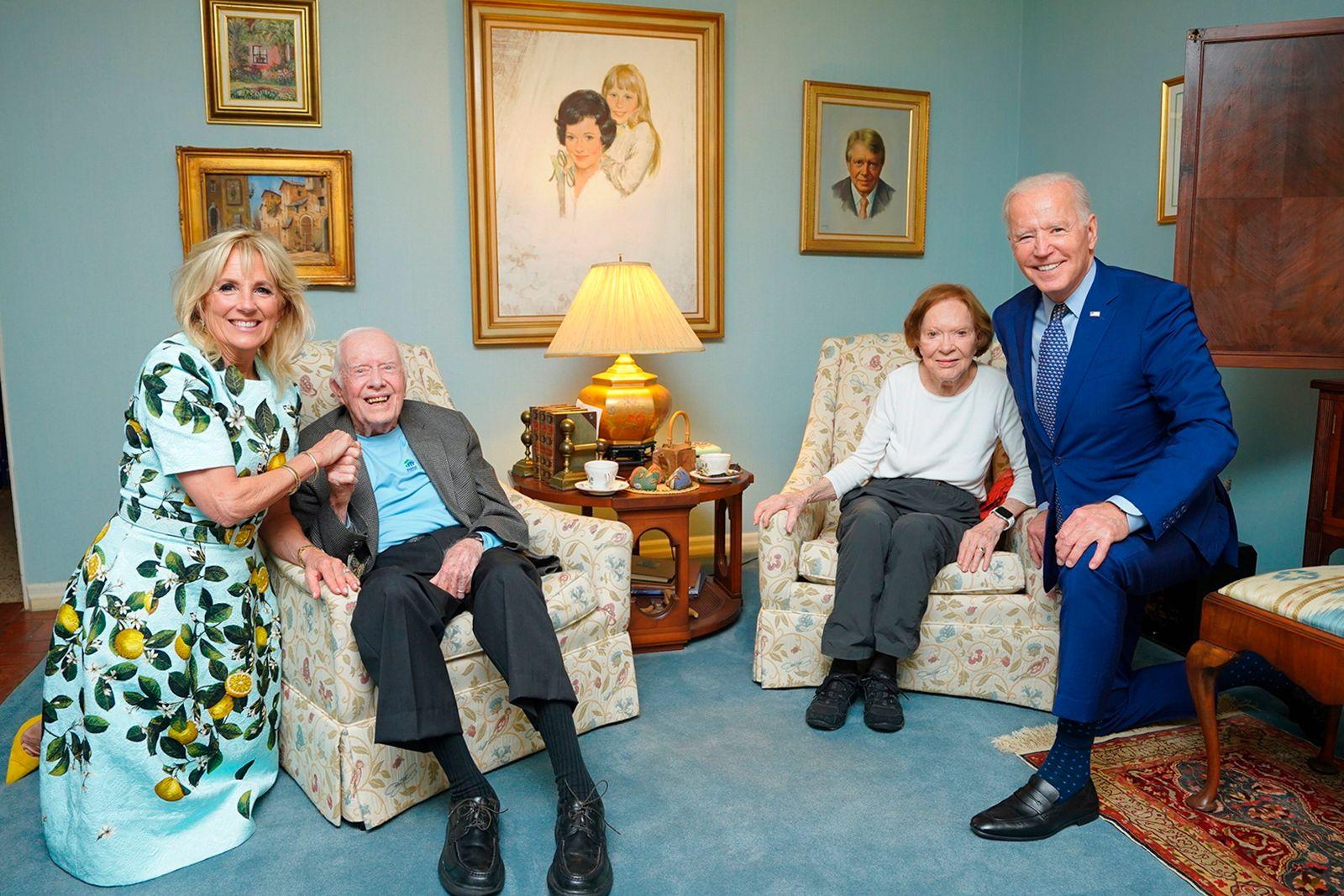 Biden Carter Visit