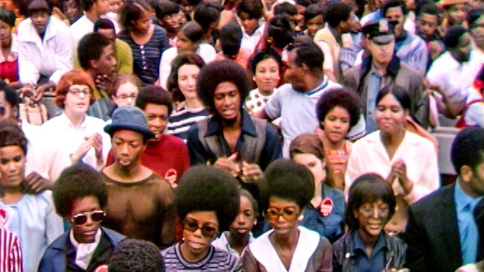 Black and proud: Publikum beim Harlem Cultural Festival im Sommer 1969