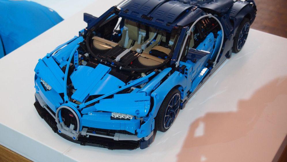 Lego-Bugatti: Blaues Steinchen-Wunder