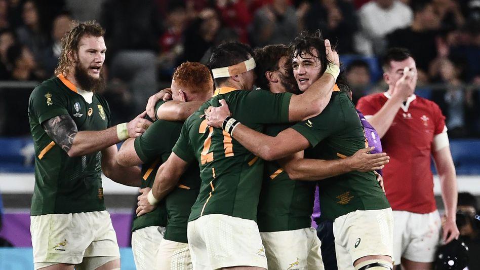 Rugby-WM: Ein Strafkick entscheidet über Südafrikas Finaleinzug