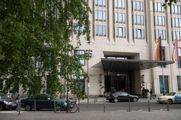 Hotel Ritz-Carlton am Potsdamer Platz: Hier steigen die Obamas ab