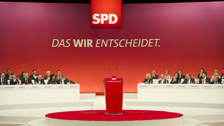 SPD-Parteitag (Archivbild): Keine Partei wirkt so panisch