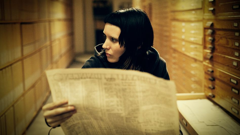 "Rooney Mara als ""Lisbeth Salander"" in ""Verblendung"": Rendezvous nach 80 Minuten"