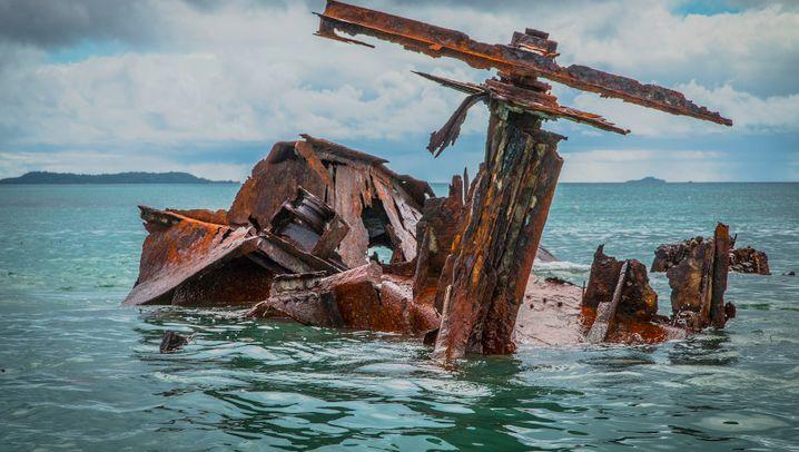 Kriegsrelikte im Chuuk-Atoll: Höhlen, Ruinen und Kanonen