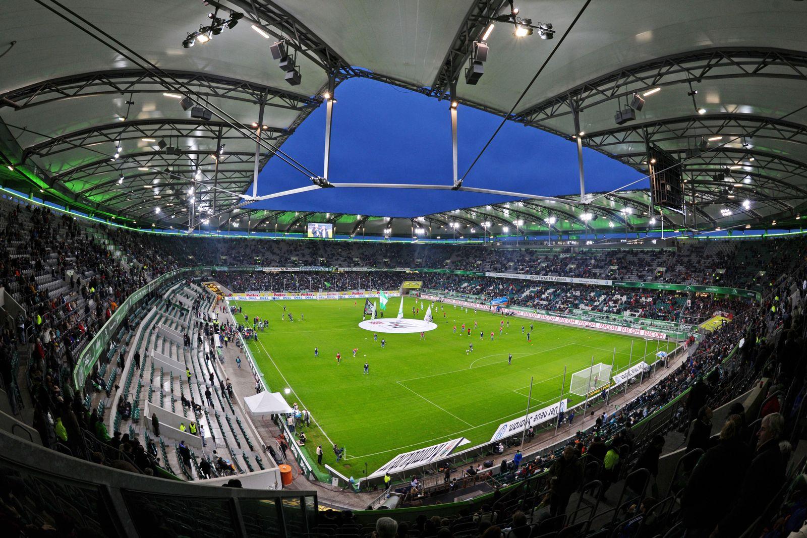 Volkswagen-Arena des VfL Wolfsburg