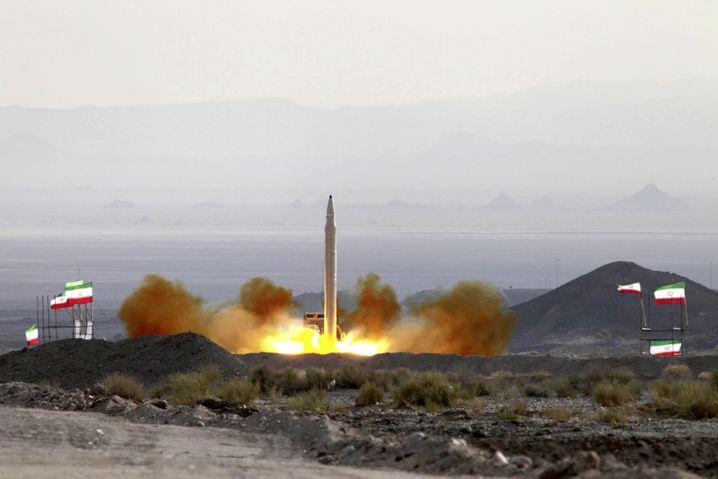 Raketentest in Iran