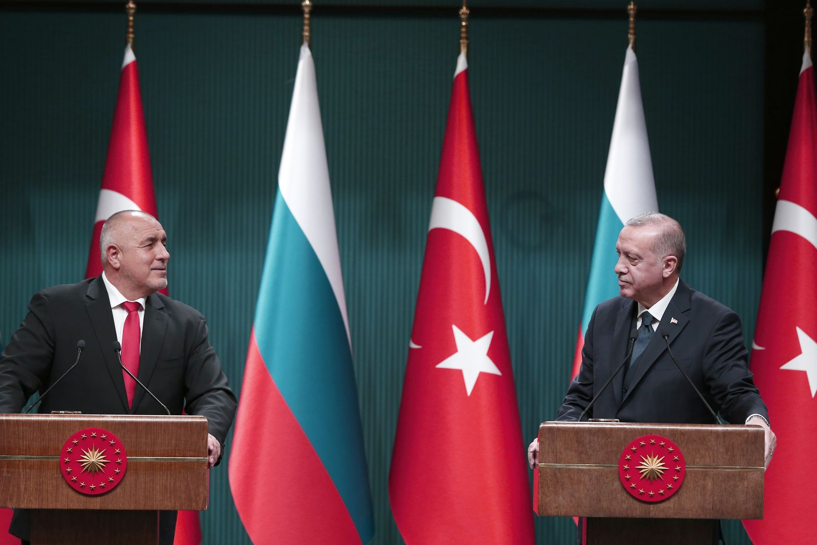 Recep Tayyip Erdogan - Boyko Borisov press conference