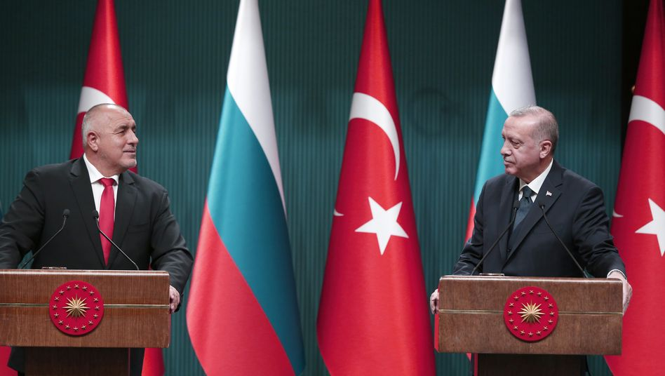 Männerfreunde Borissow und Erdoğan