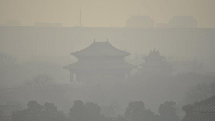 Smog in Peking: Schon wieder Alarmstufe Rot