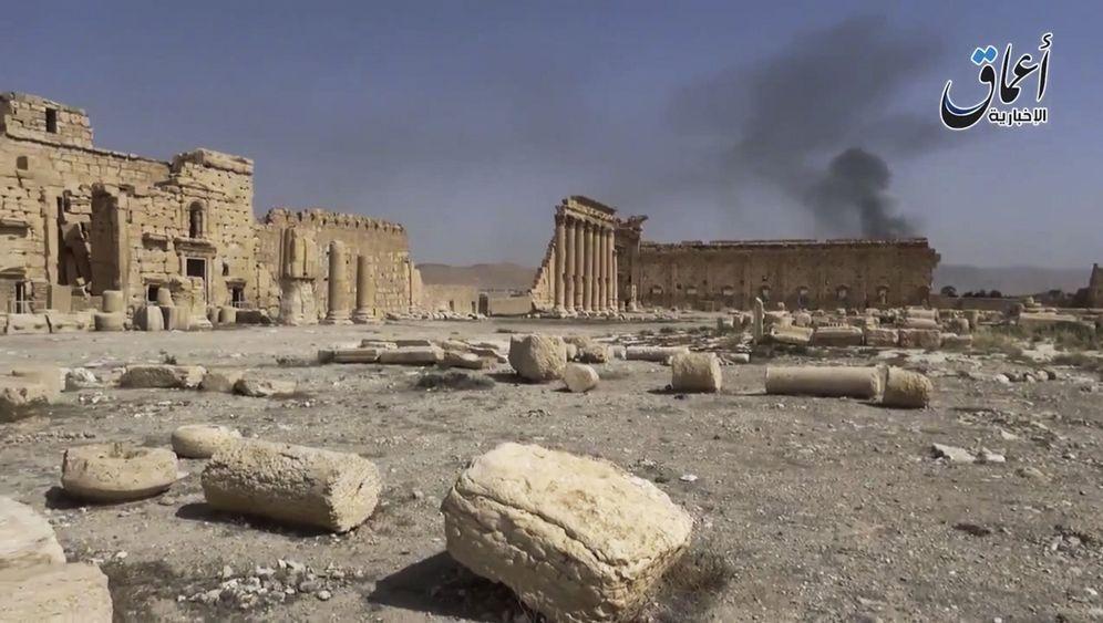 Im Zentrum des Krieges: Die Statuen von Palmyra