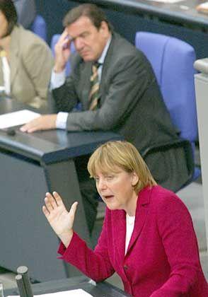 Bundestags- debatte: Auslotung, Beibehaltung, Deckelung