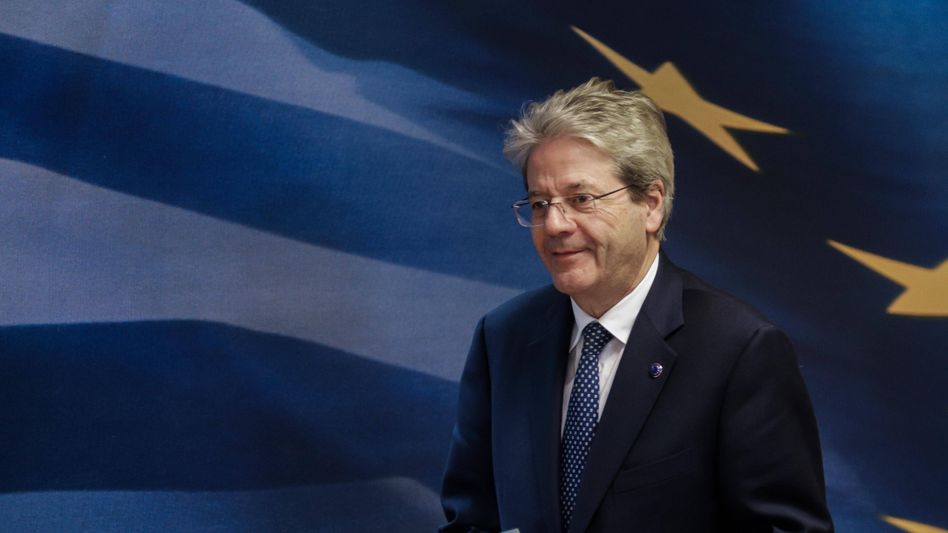 European Commissioner Paolo Gentiloni