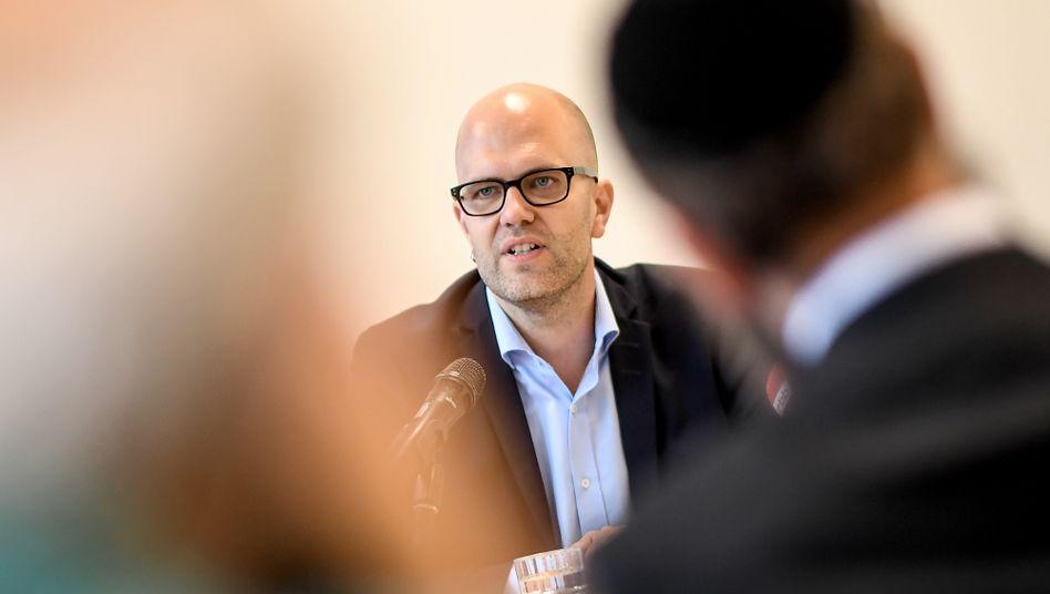 Samuel Salzborn, Ansprechpartner zu Antisemitismus des Landes Berlin
