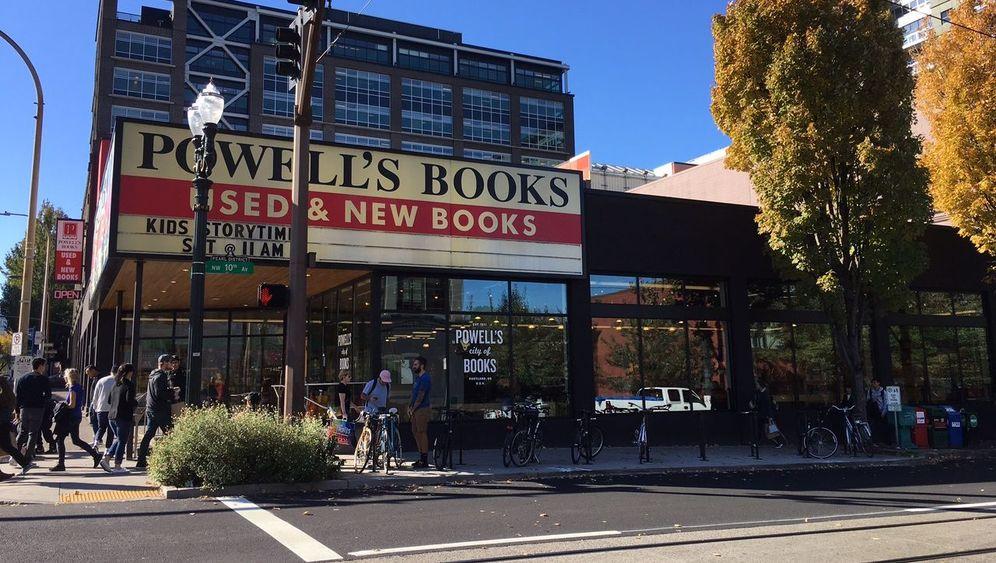 Powell's Bookshop: Die Amazon-Trutzburg