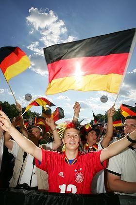 Deutschland-Fans in Berlin: OléOléOlé