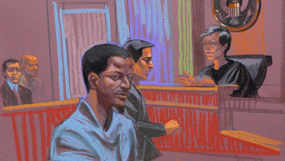 """Angeklagter Ghailani: Schuldig wegen """"Verschwörung zur Zerstörung von US-Eigentum"""""""